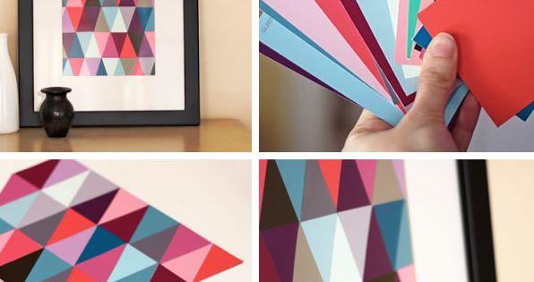 7 formas creativas de hacer tus propios cuadros casero - Cuadros para hacer en casa ...