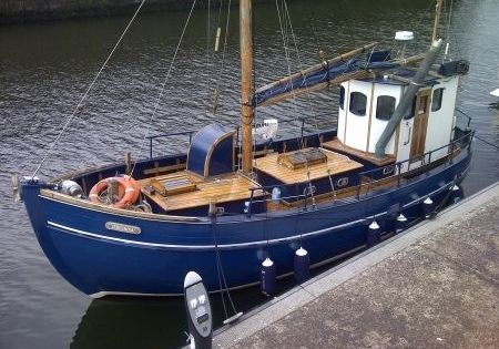 pocket trawler | converted trawler Pocket Sein Netter Classic Motor Boats for sale | Trawlers ...