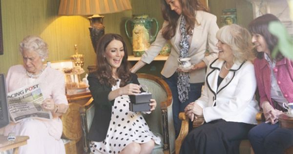 ladbrokes imagines kate middleton 39 s baby shower royal family