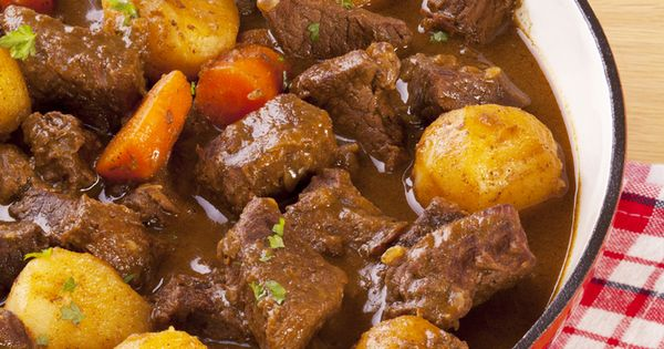 ... parsnips for potato | Food | Pinterest | Beef Stews, Stew and Crock