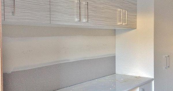 laminex  u0026 39 ice veil u0026 39  overhead cupboards