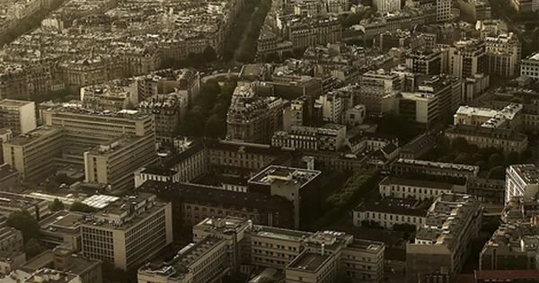 View from the Montparnasse Tower, Paris.I want to go see this place