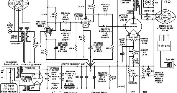 western electric 91a schematic