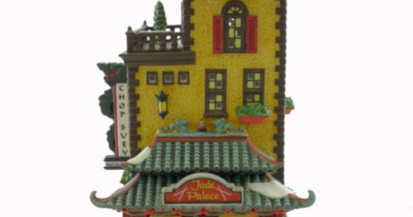 Dept 56 Buildings Jade Palace Chinese Restaurant 808798