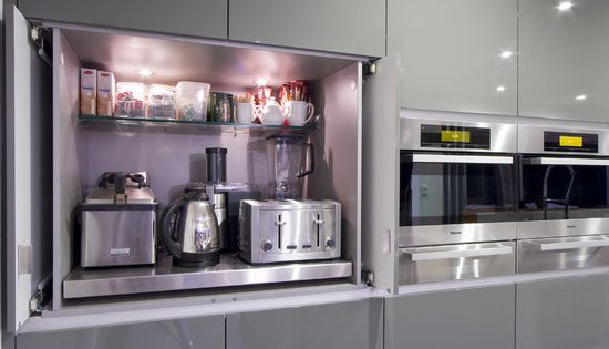 Ikea high gloss grey abstrakt cabinets design pictures for Abstrakt kitchen cabinets