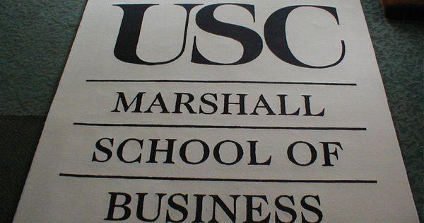 Usc marshall school of business essays
