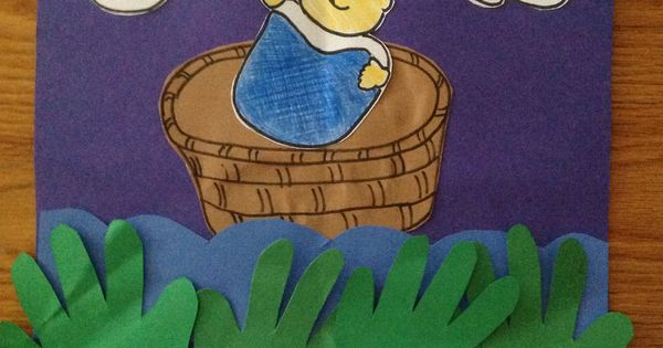Baby Moses Craft Moses Crafts Activities Pinterest