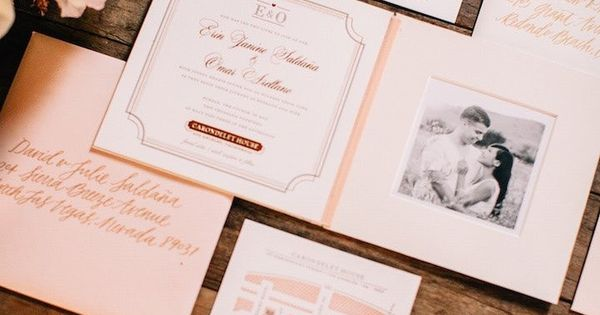 Los Angeles Wedding Invitations: Colorfully Festive Los Angeles Wedding