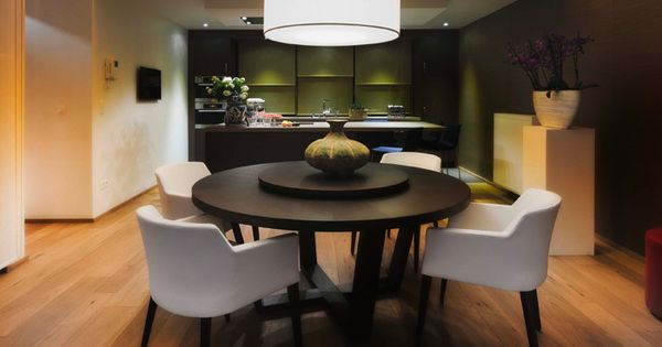 Open keuken met eiland keuken pinterest open keuken keuken en verlaagd plafond - Opening tussen keuken en eetkamer ...