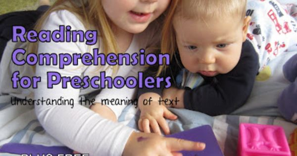 understanding text, teach kids how to read