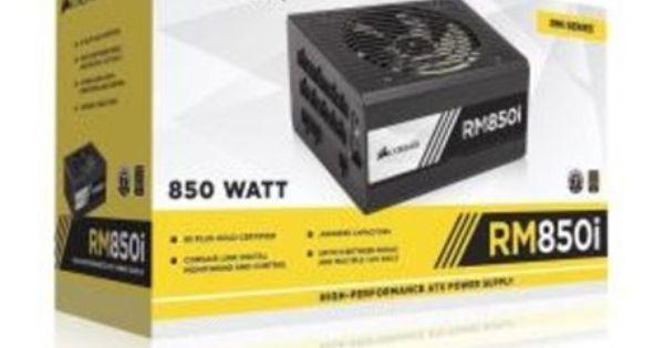 Corsair Alimentatore Corsair Rm850i 80 Gold Modular 850 Watt Cool Things To Buy Atx Power Supply