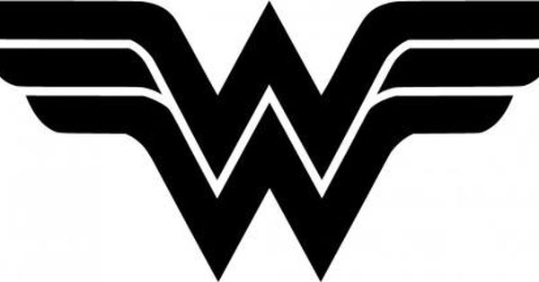 Wonder Woman Logo Vinyl Sticker Comic Book Decals Comic Book Stickers Movie Decal Superman Ironman Wonder Woman Logo Folded Book Art Wonder Woman Tattoo