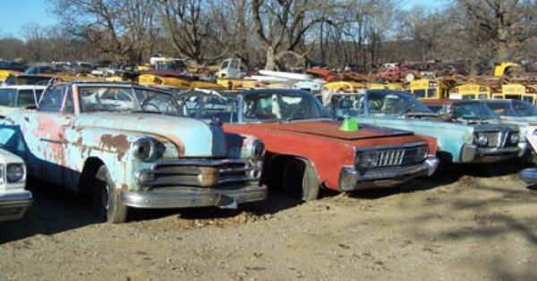 Old Car Salvage 51