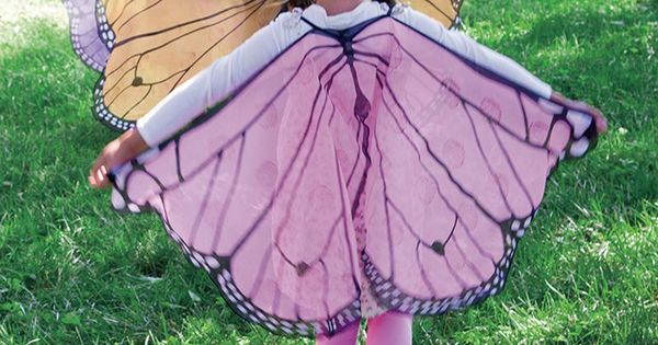 Make your own beautiful Butterfly costumes. So cute !Fanciful Butterfly Wings. DIY
