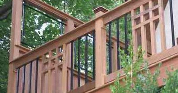 Craftsman Deck Railing Ideas Google Search Deck
