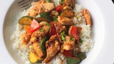 Food Wishes Thai Basil Chicken