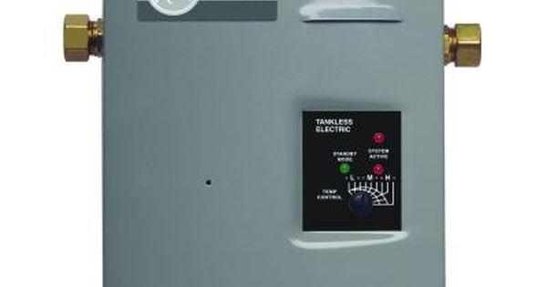 Rheem Rete 13 13kw 1 97 Gpm Tankless Electric Water