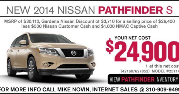 Pathfinder October Nissan Pathfinder 2014 Nissan Pathfinder 2013 Nissan Pathfinder