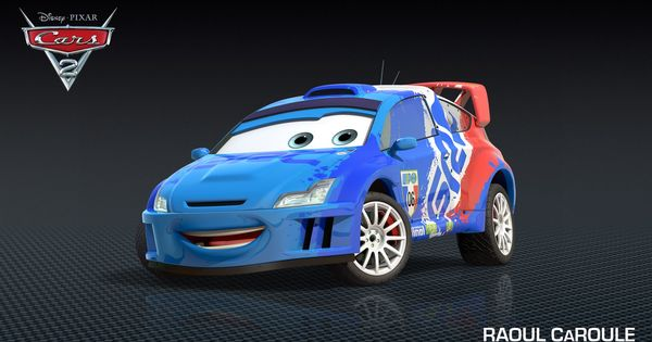 Access Pixar New Cars 2 Character Raoul Caroule Cars Characters Cars Movie Pixar Cars