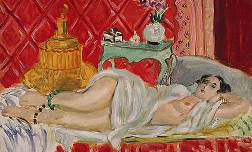 Odalisque : Harmonie en rouge, par Henri Matisse | Henri ... Henri Matisse