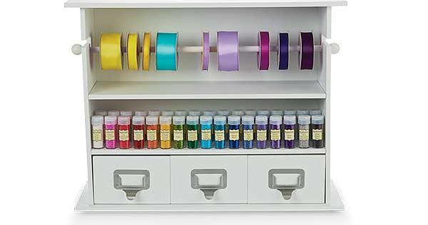 Michaels Recollections Wall Mount Craft Storage
