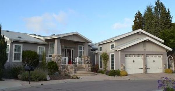 Manufactured home with garage upward mobility pinterest for Modular homes with garages