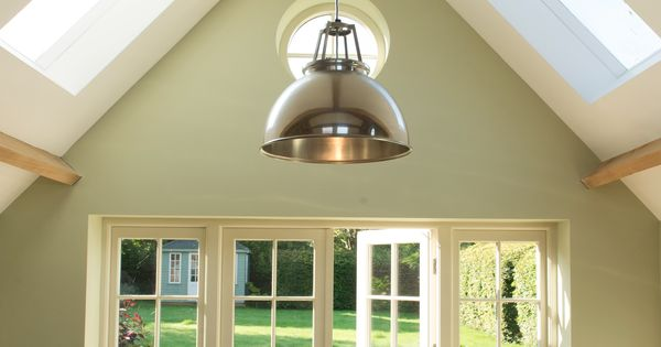 Best Vaulted Ceilings Farrow And Ball Cooking Apple Green 640 x 480