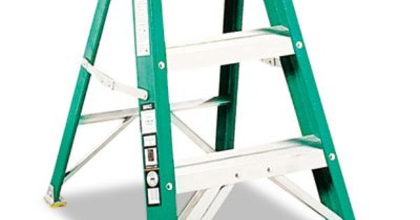 Bestseller 624 Folding Fiberglass Two Step Stoo 65