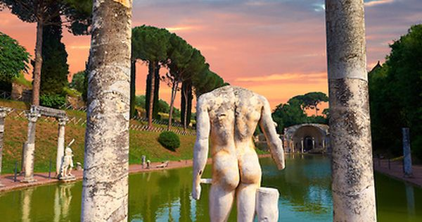 Hadrian's Villa ~ wow, this whole place is beautiful