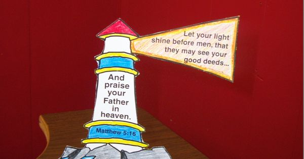 Let Your Light Shine Craft Light Crafts And Lessons For