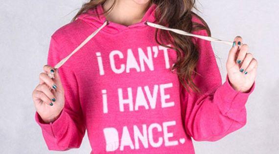 i can 39 t i have dance triblend pink hoodie dance. Black Bedroom Furniture Sets. Home Design Ideas