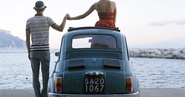 Italian Style with love fiat500