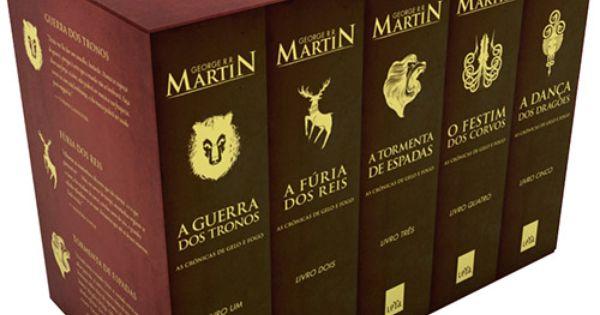 Saga As Cronicas De Gelo E Fogo De George R R Martin Ja Li O