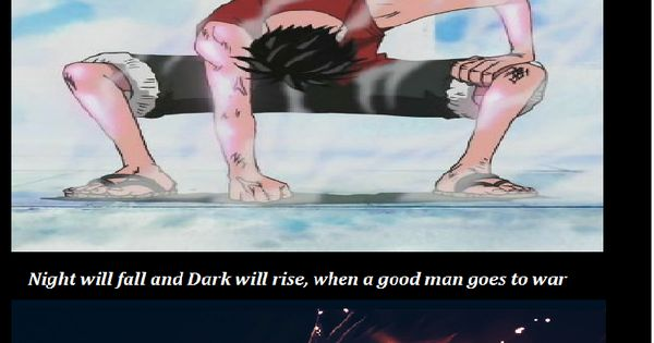 Demons Run with Bleach, Naruto, One Piece and Fairy Tail (quote from