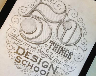 betype: '50 Things They Never Taught You At Design School'