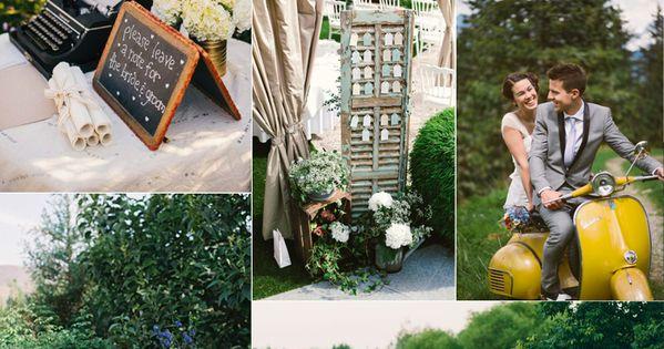 mariage vintage tableau d 39 inspiration d co id e pour la d coration exterieure pour la. Black Bedroom Furniture Sets. Home Design Ideas