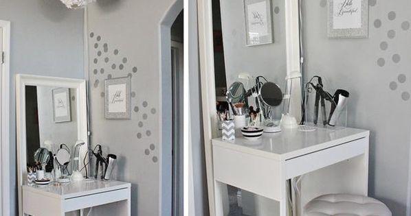 22 Small Dressing Area Ideas Bringing New Sensations Into
