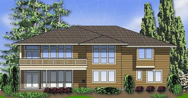 Plan 6966am Modern Prairie Style Home Plan Basements