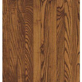 Shop Bruce Frisco 3 25 In W Prefinished Oak Hardwood Flooring Gunstock At Lowes Com Bruce Hardwood Floors Red Oak Hardwood Bruce Flooring