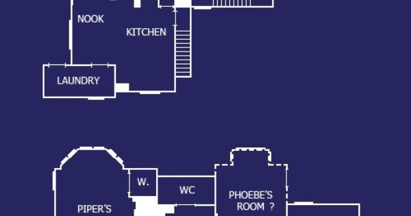 Charmed House Blue Prints Famous Homes From Films