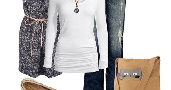 """Kitties"" by kaseyofthefields on Polyvore - Cute jeans!"