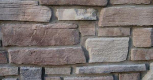 Cast Natural Stone 10 Sq Ft Nicolet Weatheredge At Menards Menards House Supplies Natural Stones