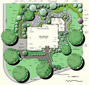 Residential Master Landscape Plans Landscape Plans Residential Landscaping Landscape Design Plans