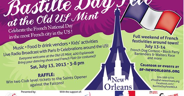 bastille day in new orleans
