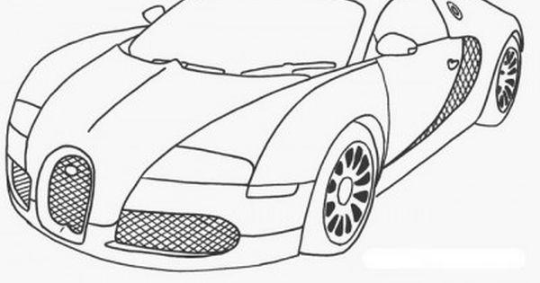 dibujos de coches deportivos para pintar  bugatti  Pinterest