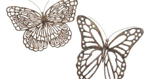 Butterfly Wrought Iron Wall Art Is The Perfect Accent For