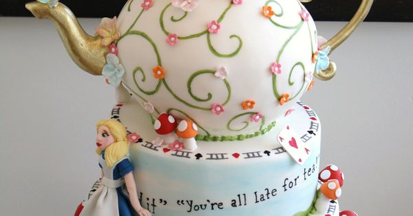 alice in wonderland cake idea