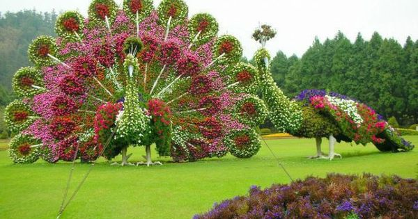 Excellent garden art