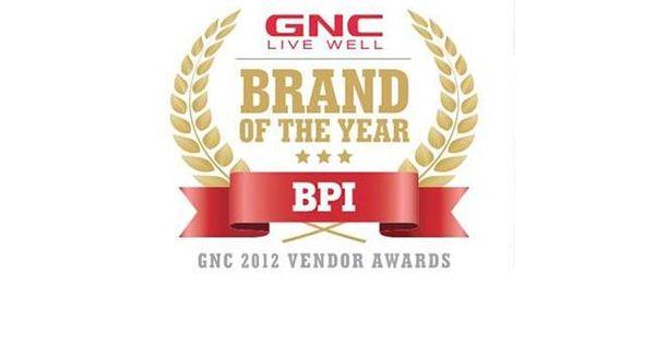 Bpi Sports Named Gnc Brand Of The Year Gnc Bpi Sports Sports