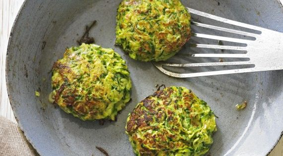 Our courgette fritters take minutes to make and are absolutely delicious with